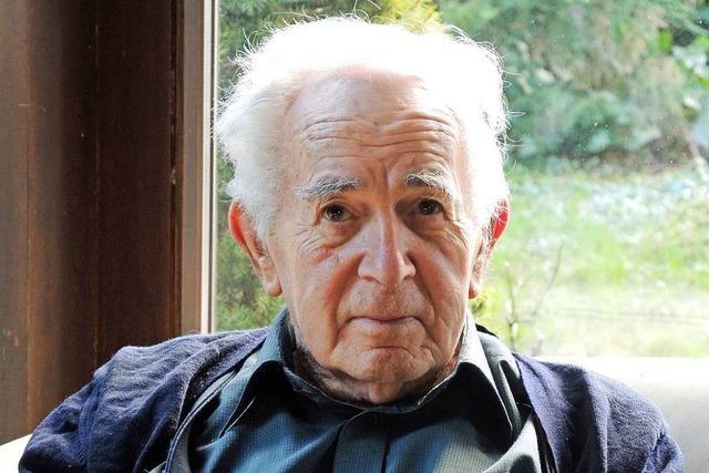 Der Freiburger Philosoph Ernst Tugendhat wird 90 Jahre alt