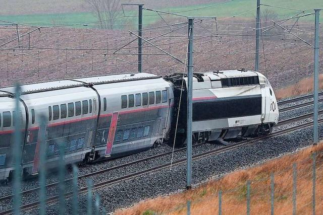 TGV-Zugfahrer schwebt wohl nicht mehr in Lebensgefahr