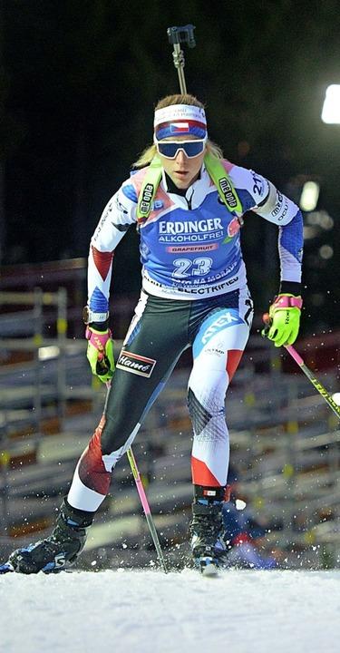 Marketa Davidova wurde Dritte.  | Foto: MICHAL CIZEK (AFP)