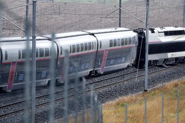 TGV nahe Straßburg entgleist