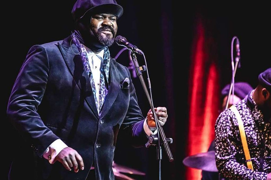 Gregory Porter & Band in Freiburg (Foto: Janos Ruf)