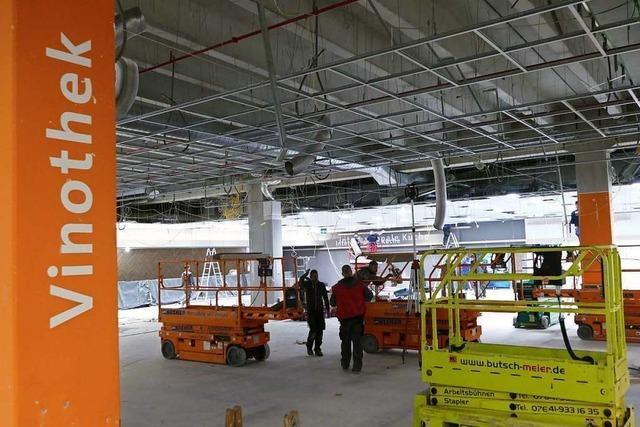 Der Hieber-Umbau in Rheinfelden ist voll im Zeitplan