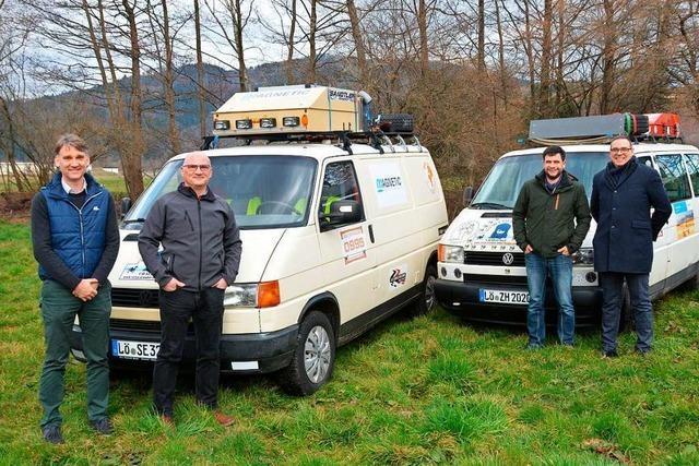 Schopfheimer Firma Magnetic Autocontrol unterstützt Mitarbeiter bei einer Rallye