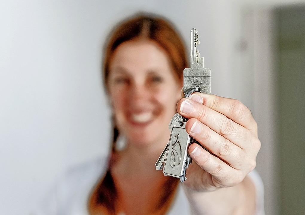 Das eigene Zuhause können Singles auch...r einen finanziellen Puffer einplanen.  | Foto: Markus Scholz