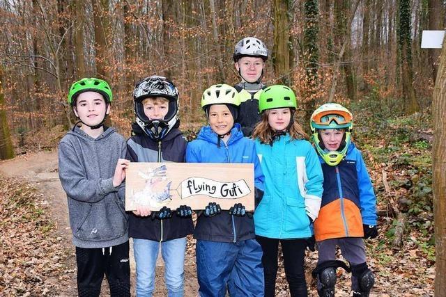 Neue Mountainbike-Strecke in Gundelfingen ist jetzt offiziell eröffnet