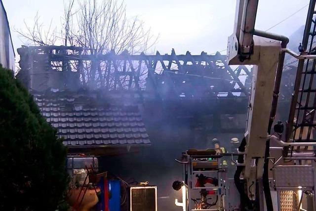 Ursache des Schuppenbrands in Altenheim war vermutlich überhitztes Speiseöl