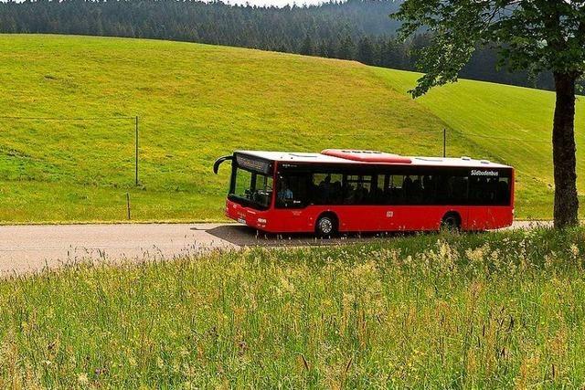 Fahrplanjustierungen bei den Südbadenbus-Linien