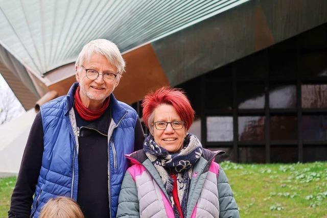 Interview mit Britta und Michael Hannemann, die sich die Pfarrstelle der Martin-Bucer-Gemeinde teilen