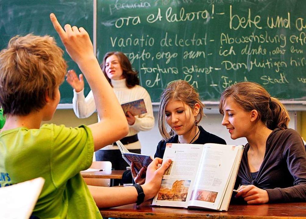 Latein lernen derzeit rund 660  Jugend...len im Kreis Breisgau-Hochschwarzwald.  | Foto: Ingo Wagner