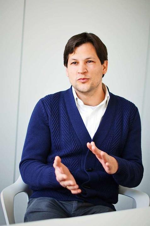 Ulrich Gebhardt  ist Fachreferent für ...hen beim Regierungspräsidium Freiburg.  | Foto: Kathrin Blum