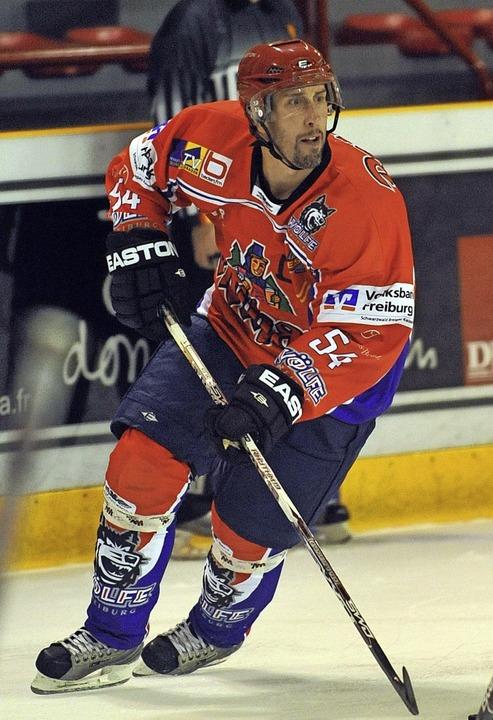 Dany Bousquet hat für den EHC Freiburg gespielt.  | Foto: Seeger