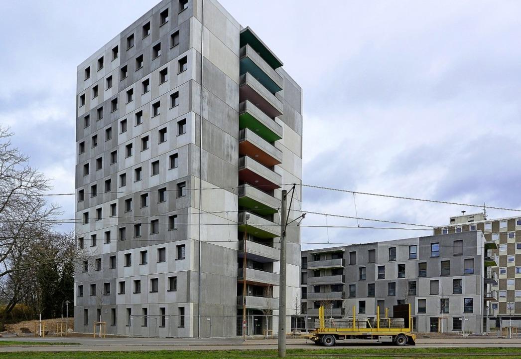 Die Studierenden-Siedlung wird derzeit...auser Torplatz wird bald umgestaltet.   | Foto: Ingo Schneider