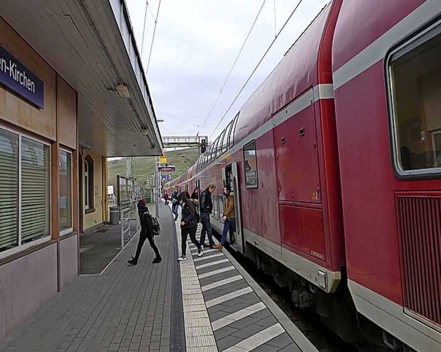 Der Bahntakt verschlechtert sich.  | Foto: Victoria Langelott