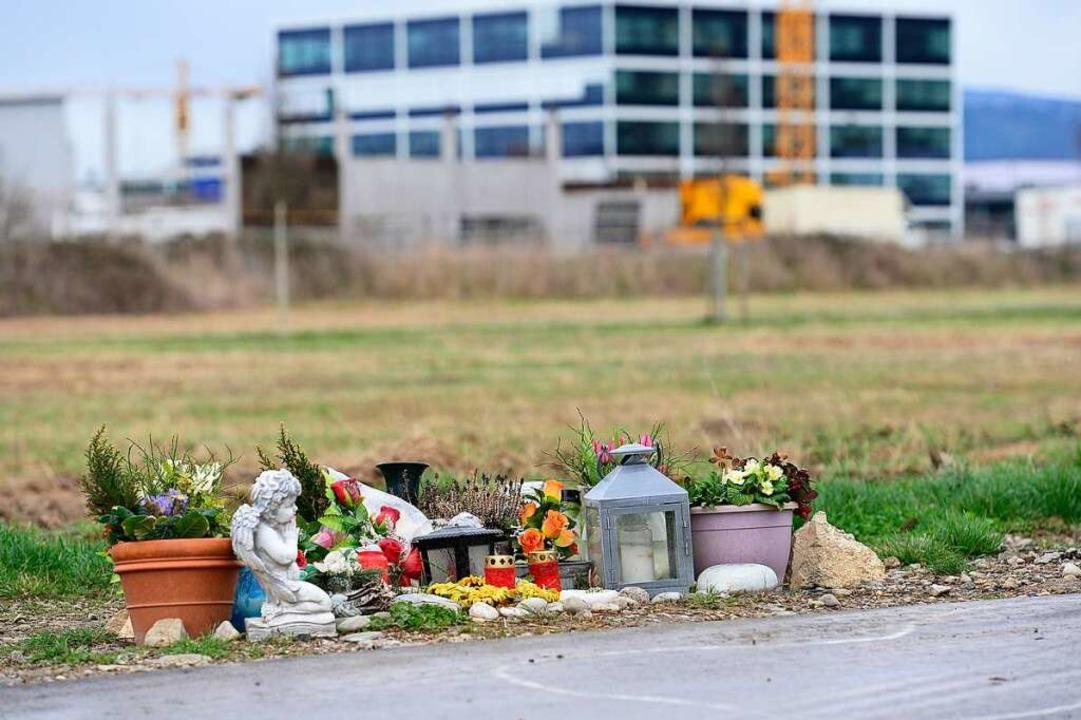 Der Tatort am Rande des Gewerbegebiet ...aus, es habe sich um Notwehr gehandelt  | Foto: Ingo Schneider