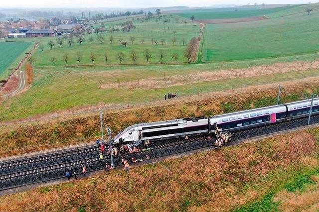 Wie der Friesenheimer Bürgermeister den TGV Unfall am Donnerstag erlebte