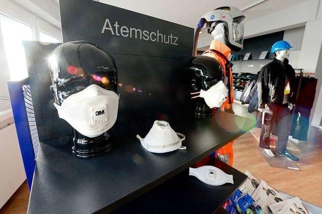 Freiburger Firma verkauft Atemschutzmasken nur an Stammkunden