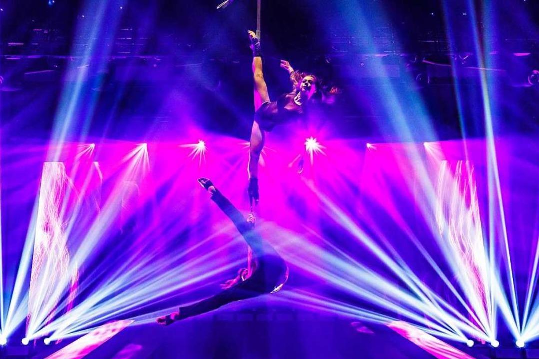 Fesselnde Artisten mit atemberaubender Akrobatik   | Foto: Europa-Park