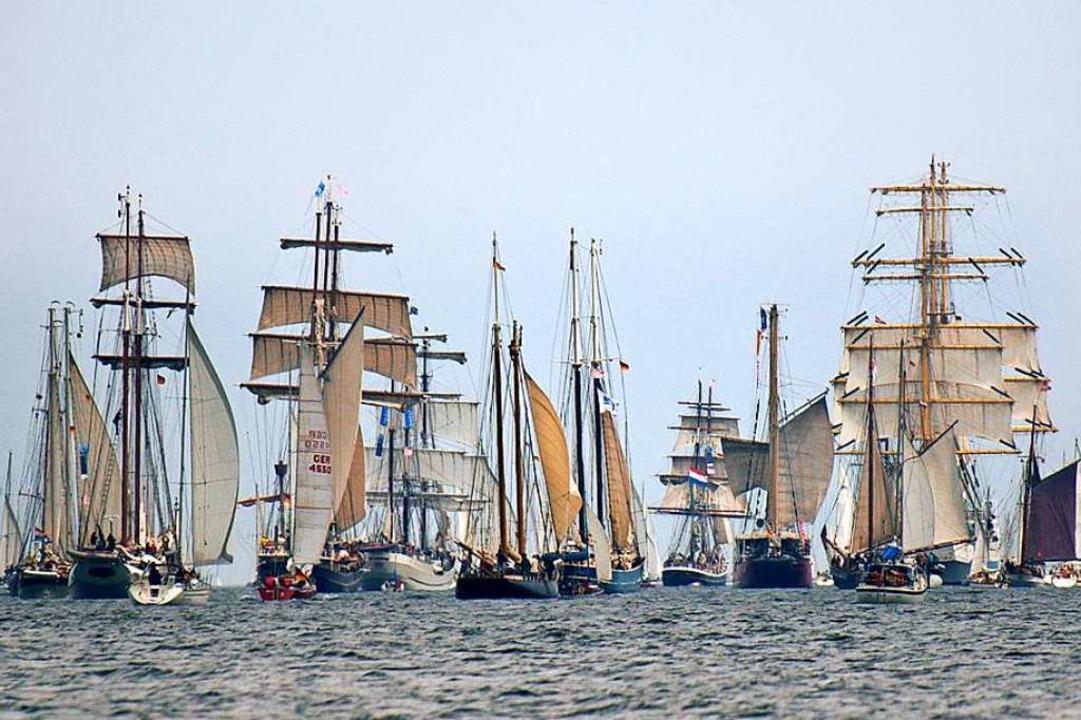 Windjammerparade in Kiel  | Foto: Landeshauptstadt Kiel - Bodo Quante