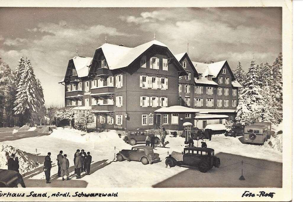 Sand Schwarzwald