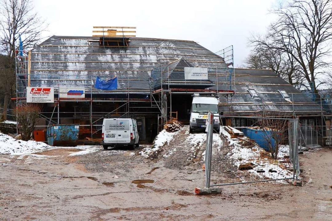 Eine Baustelle ist derzeit der Altbirklehof.  | Foto: Dieter Maurer
