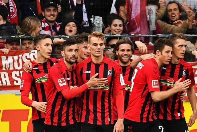 Standard-Spezialisten des SC Freiburg gewinnen 3:1 gegen Union Berlin