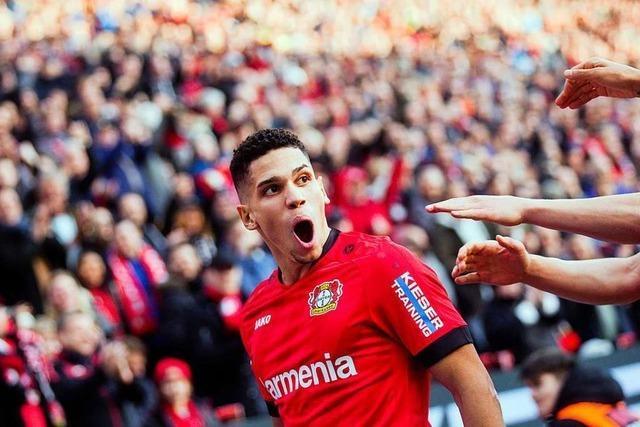 Bayer Leverkusen fertigt Eintracht Frankfurt mit 4:0 ab