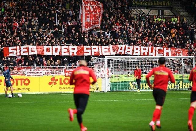 Fotos: 3:1-Sieg gegen Berlin steht im Zeichen von Protest-Bannern der Fans