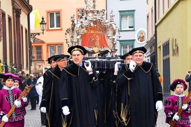 Fridolinsfest und Fridolinsprozession in Bad Säckingen