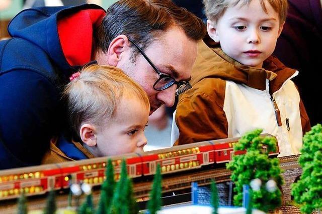 Modellbahnausstellung im Bad Krozinger Kurhaus