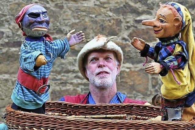 Eröffnung der Puppenparade in Kehl