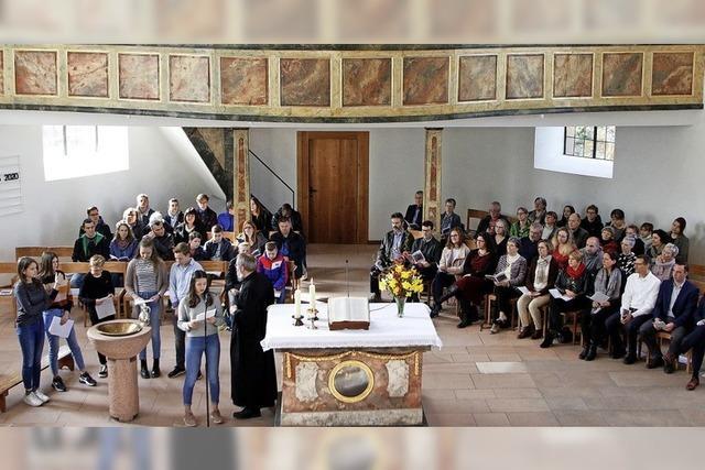 Kirche in Allmannsweier eingeweiht