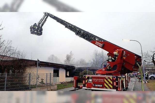 Feuerwehr erhält große Unterstützung