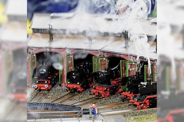 Modellbahnausstellung lockt wieder viele Besucher ins Kurhaus von Bad Krozingen