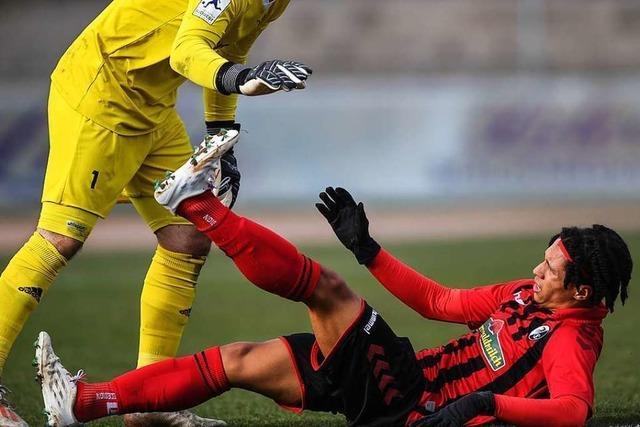 Starke erste halbe Stunde reicht dem SC Freiburg II nicht