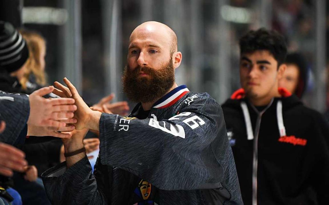 Wird sich aus beruflichen Gründen nach...Eishockey verabschieden: Philip Rießle  | Foto: Patrick Seeger