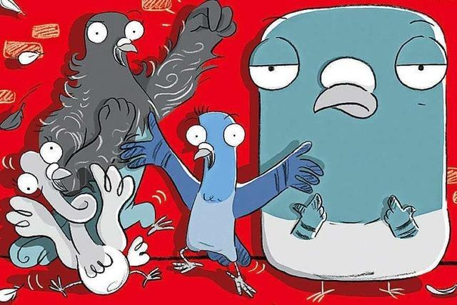 Knallharte Tauben gegen das Böse