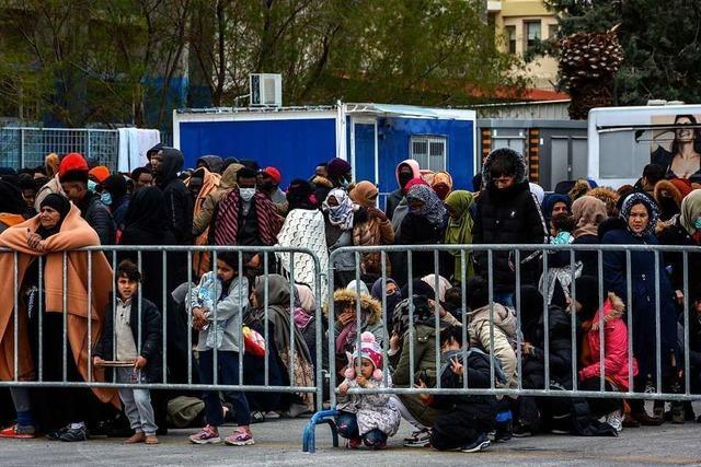 Koalition will Kinder aus griechischen Flüchtlingslagern aufnehmen