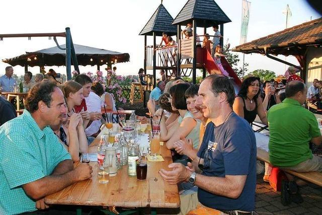 Weingut Weber in Ettenheim: Die Strauße wurde zur Gutsschänke