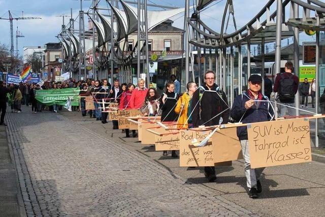 Demonstranten fordern
