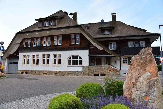 Der Ratssaal in Horben wird zu Büros umgebaut