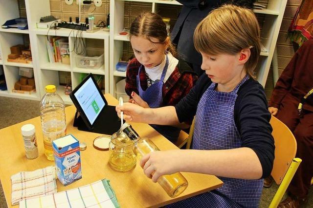Hörgeschädigte Kinder können in Stegen den Ernährungsführerschein machen – wie andere Schüler