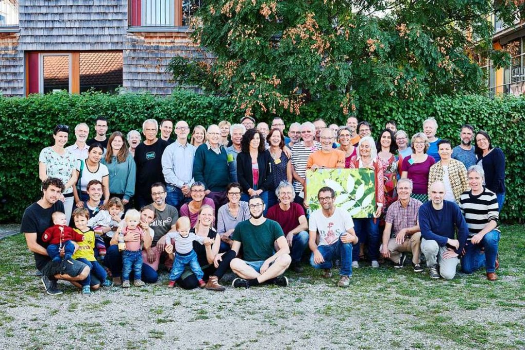 Die Gründungsmitglieder der Wohngenoss...ollen gemeinsam und solidarisch bauen.  | Foto: Bernd Schumacher