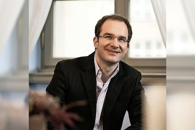 Der Bariton Tobias Berndt singt im Humboldtsaal