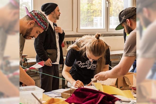 Am Samstag ist der Kick-Offf vom Jugendkunstparkour