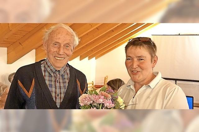 Vorsitzender Fritz Rüd hängt noch ein Jahr dran