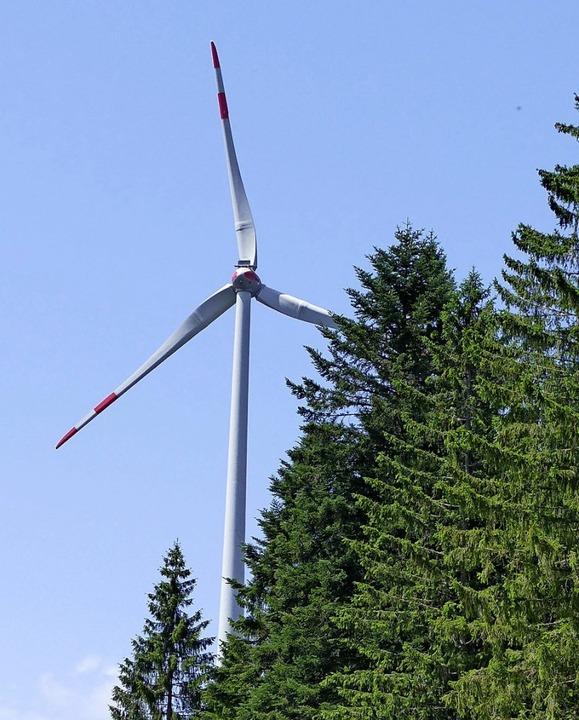Wie laut sind die Gersbacher Rotoren? ...tgegner gerne vom Landratsamt wissen.   | Foto: André Hönig