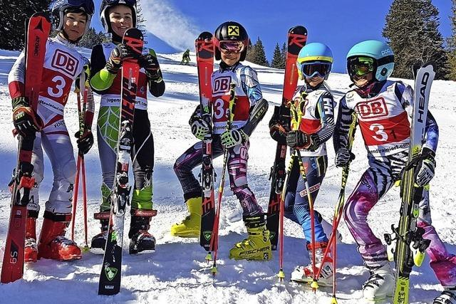 Alpin-Quintett beim DSC