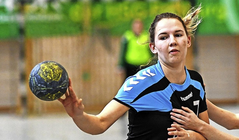 <BZ-FotoAnlauf>Landesliga:</BZ-FotoAnl...in beim Derbysieg gegen die Alemannia.    Foto: Patrick Seeger