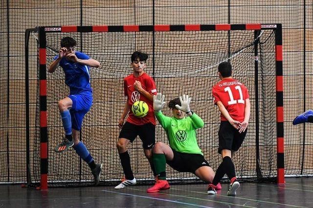 Eindrucksvolle Werbung für Futsal bei süddeutscher Meisterschaft in Freiburg
