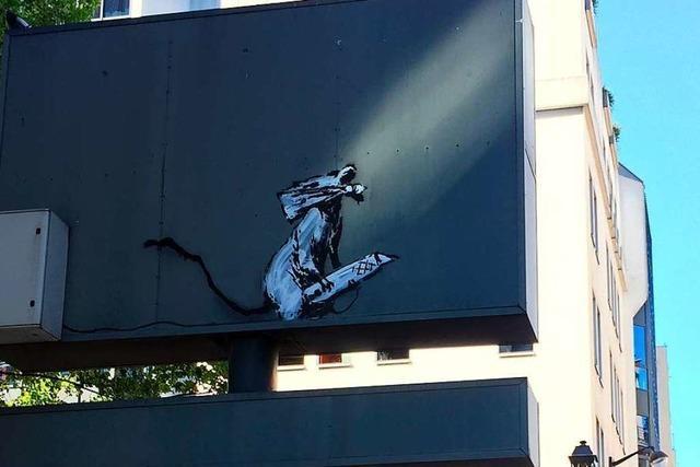 Ein Diebstahl im Namen von Banksy?